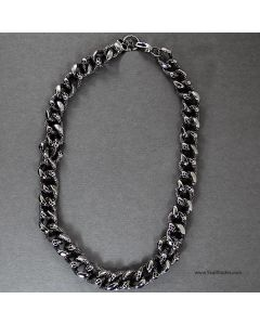 stainless steel heavy duty chain bracelet