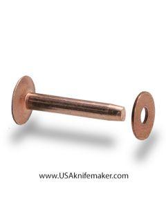 Rivets - Copper Rivets & Burrs 50pk