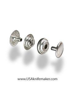Snaps - Nickel line 20 10pk 1261-12