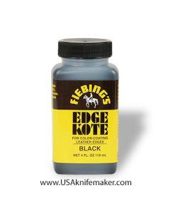 Fiebings - Edge Kote Black 4oz