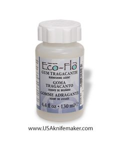 Gum Tragacanth for dressing leather edges
