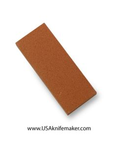 "India Stone - 320 grit Fine - 1.625"" wide x 4"" long x 0.5"" thick"