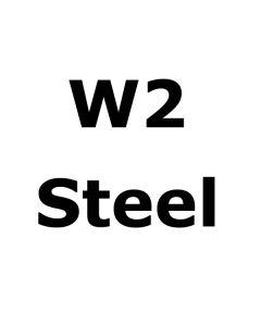 "W2 Bar Stock Steel .270"" x 4"" x 11.5"" - END CUT"
